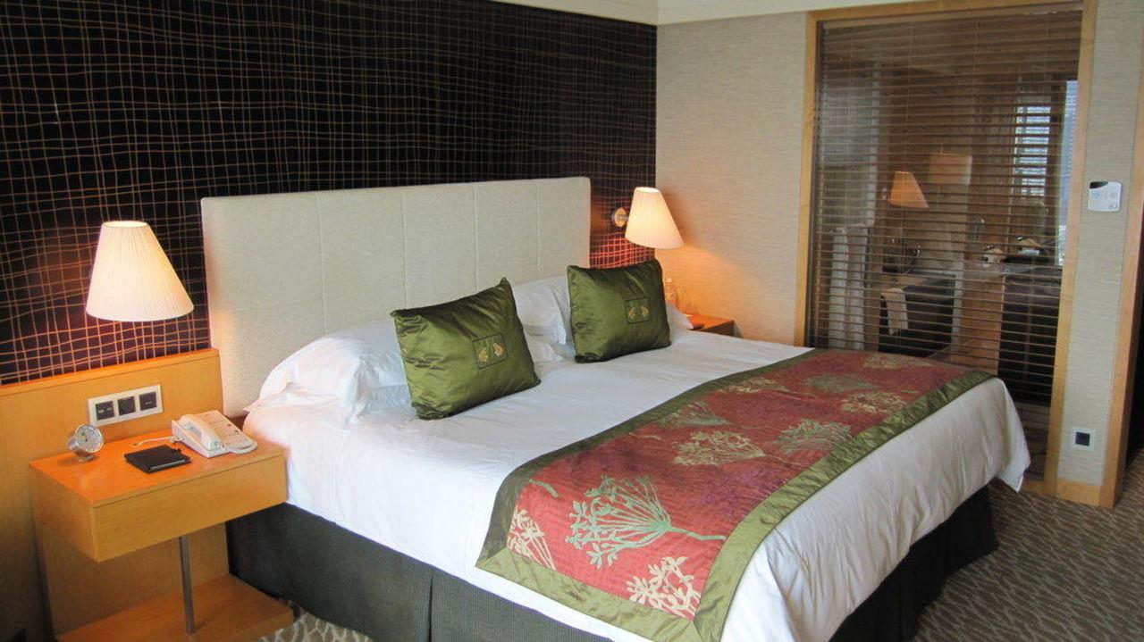 Blick ins Zimmer Hotel The Mandarin Oriental Singapore