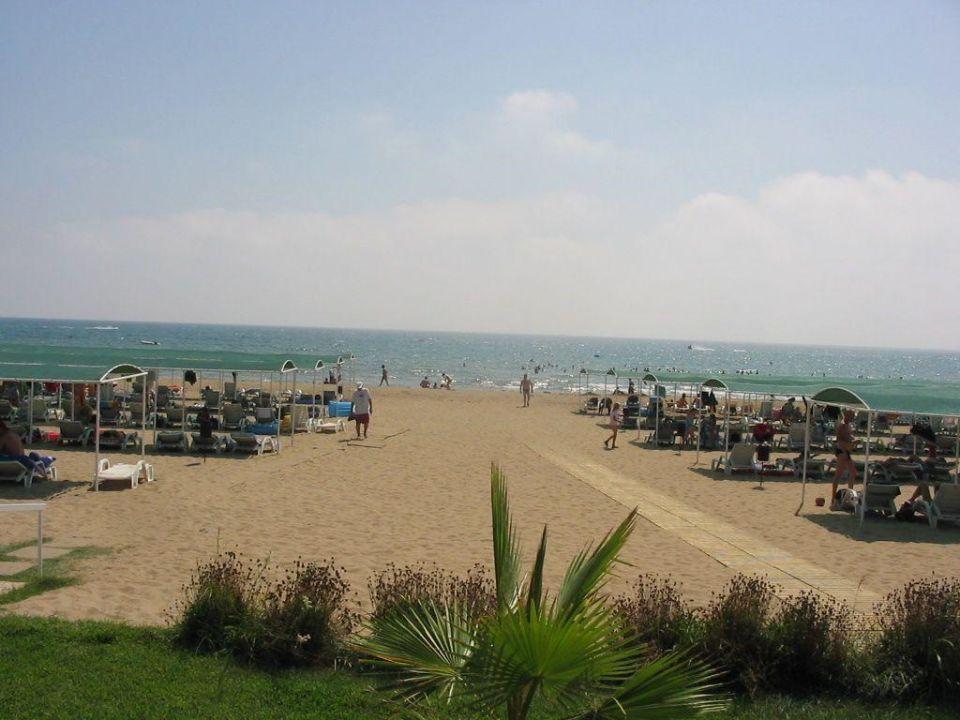 Der Strand beim Hane Hotel Hane Hotel