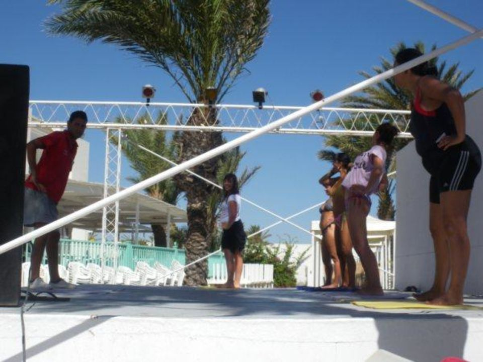 Réveil matinal Hotel El Mouradi Skanes Beach
