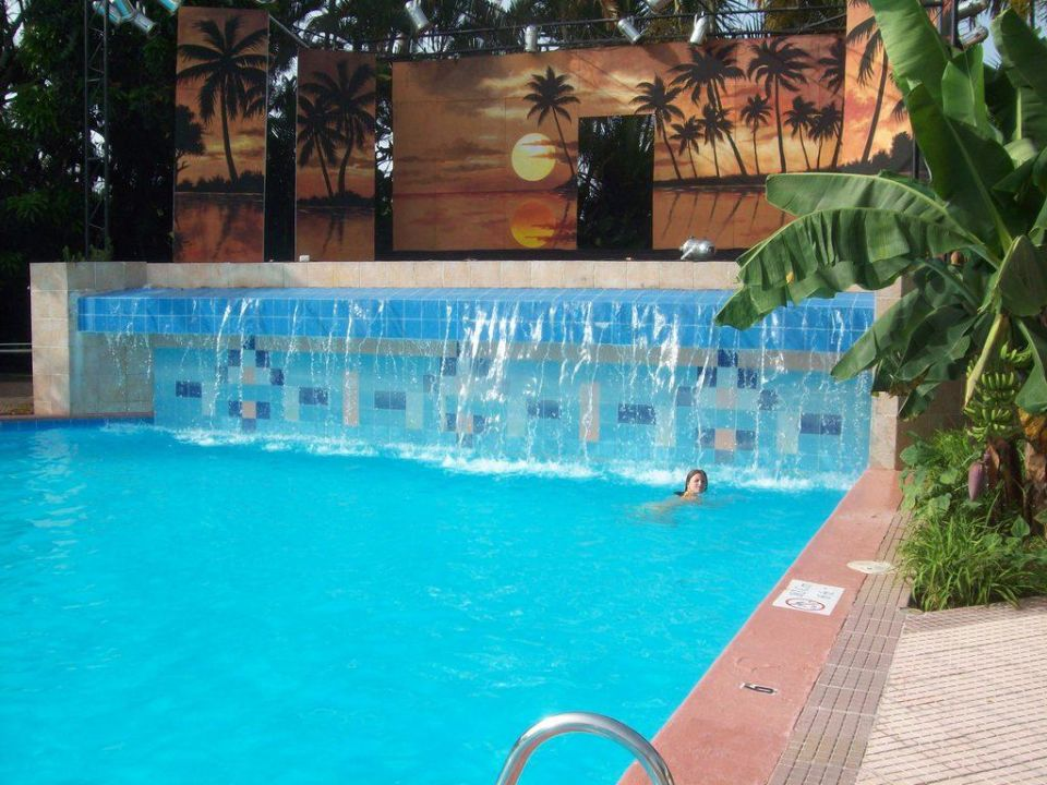 Wasserfall Am Pool Hotel Puerto Plata Village