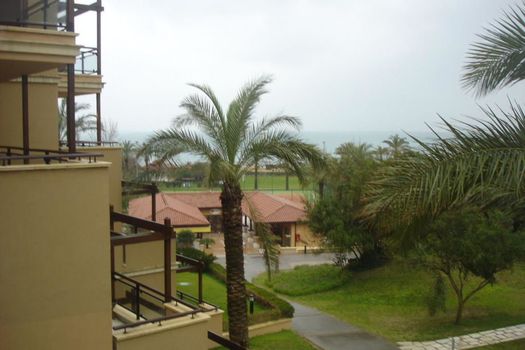 Blick vom Balkon zum Meer Waterworld Belek by MP Hotels