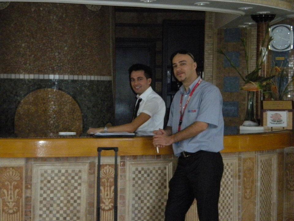 Immer höflich und nett (Rezeption) Hotel Nova Park