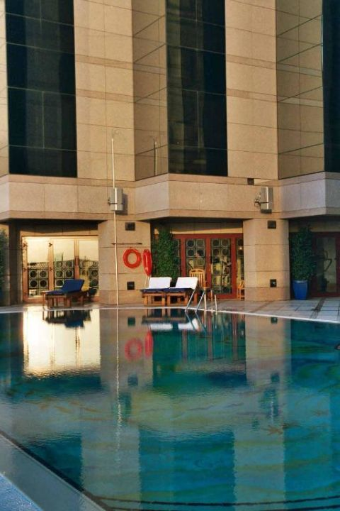Pool des Fairmonthotels Fairmont Dubai