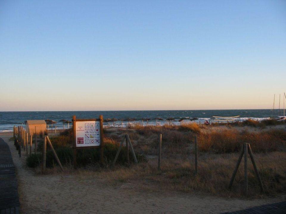 Blick auf's Meer von der Promenade aus TUI FAMILY LIFE Islantilla