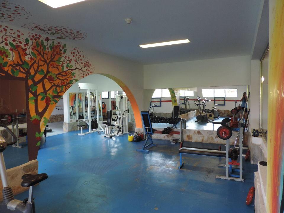 Fitnessraum hotel  Der Fitnessraum