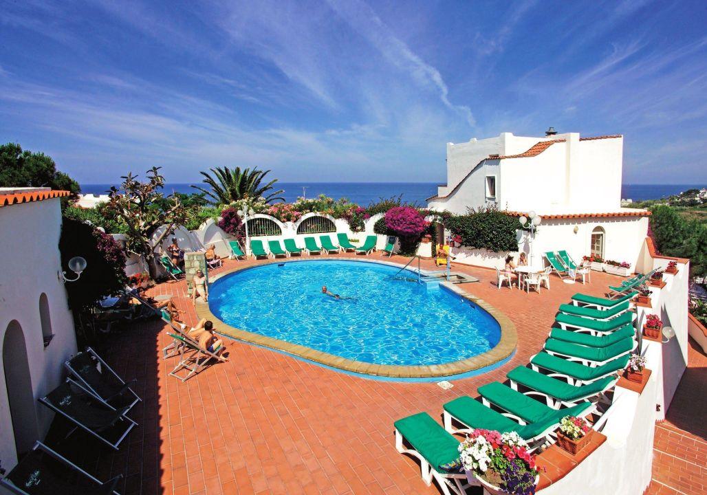 Piscina piccola hotel royal palm terme forio ischia - Piccola piscina ...
