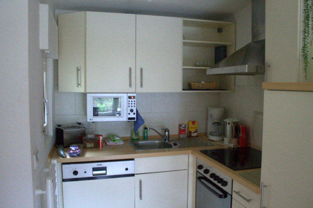 Kleine Einbaukuche Mit Spulmaschine Und Herd Etc Ferienhaus
