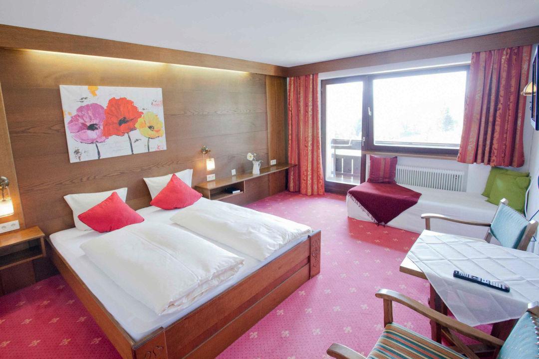 Doppelzimmer Rote Flüh Hotel Berghof