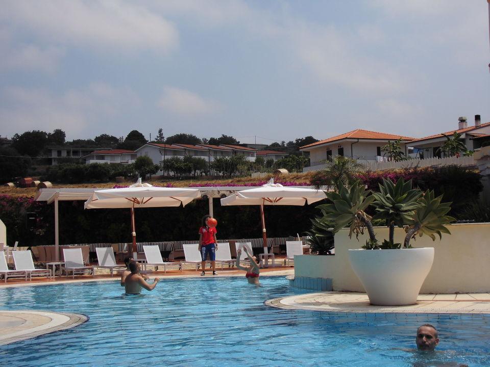 Angenehme Badetemperatur Hotel Sunshine Club