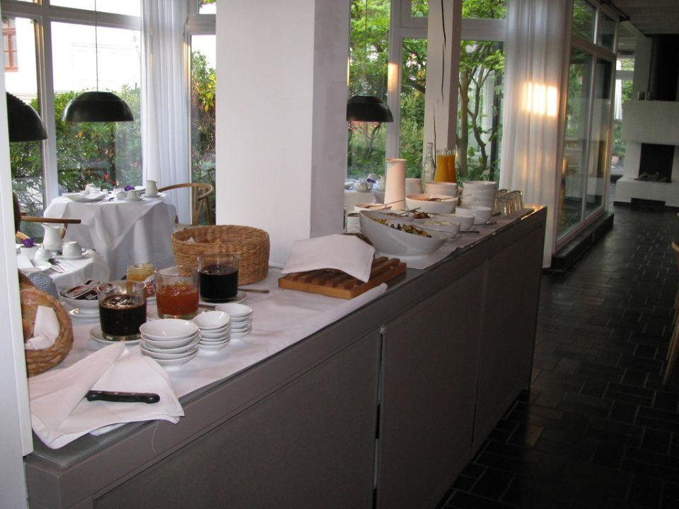 bild sch ne keramik im hausflur zu hotel haus norderney. Black Bedroom Furniture Sets. Home Design Ideas