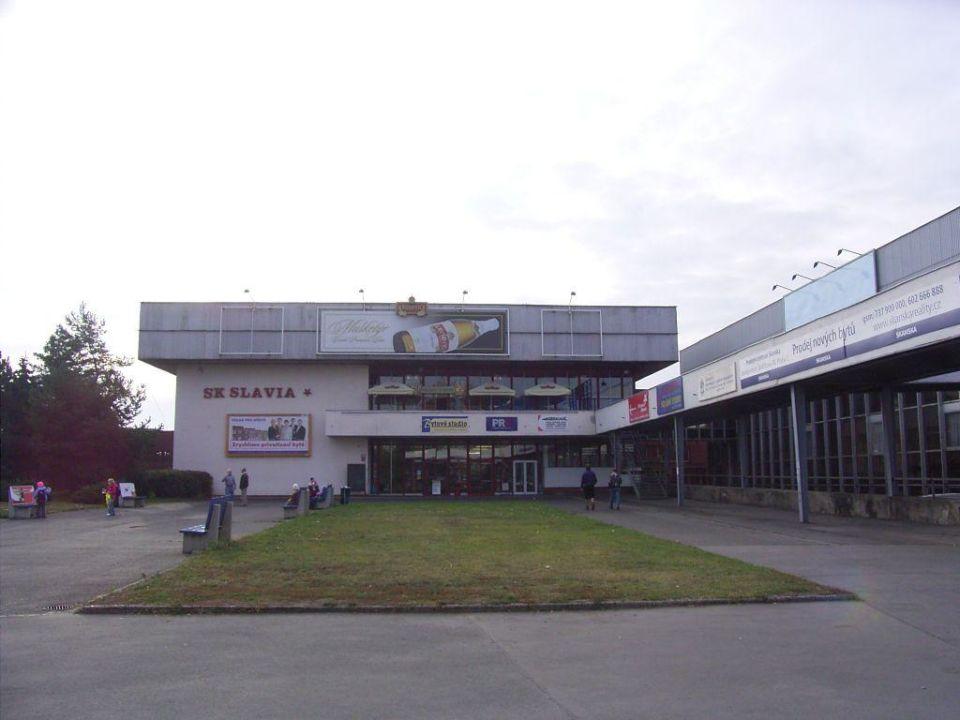 "Hallenbad und Restaurant ""Na Palube"" im OG Hotel Slavia"