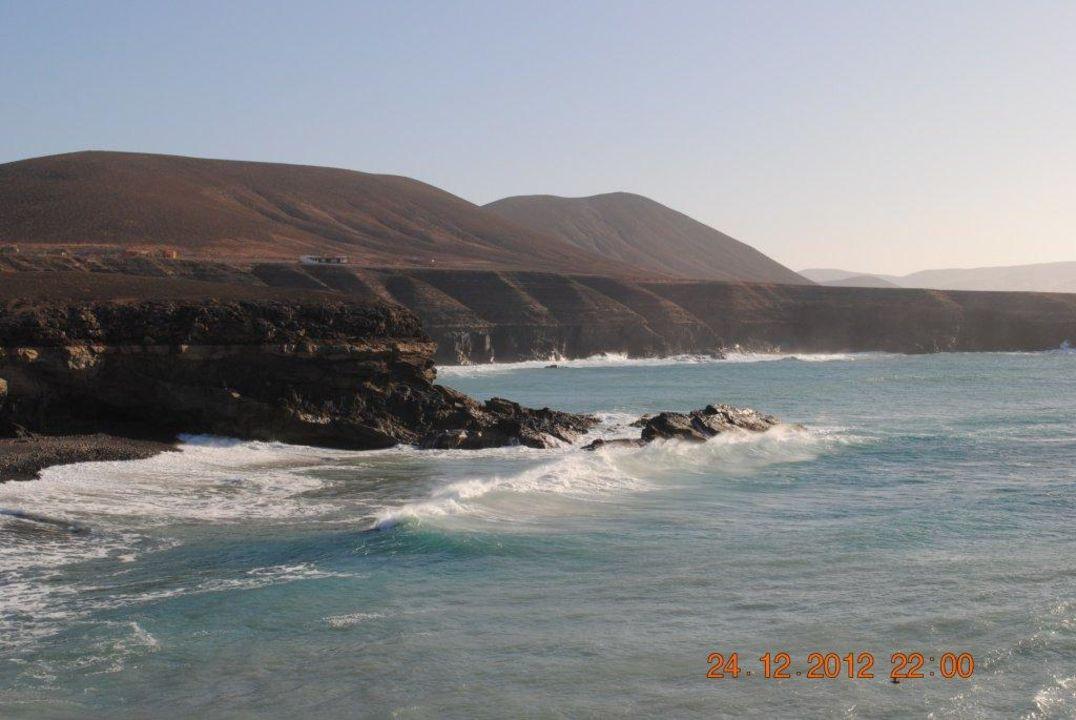 Westküste bei La Pared Bungalow Costa Real  (Vorgänger-Hotel – existiert nicht mehr)