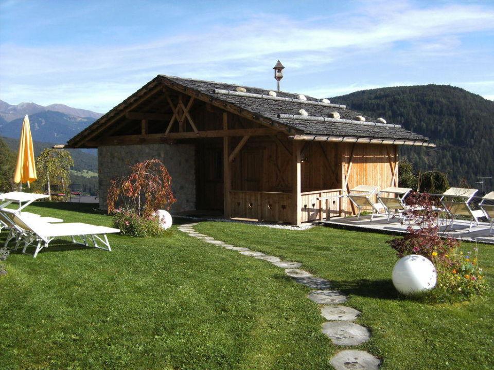 Almhüttensauna Hotel Alpen Tesitin