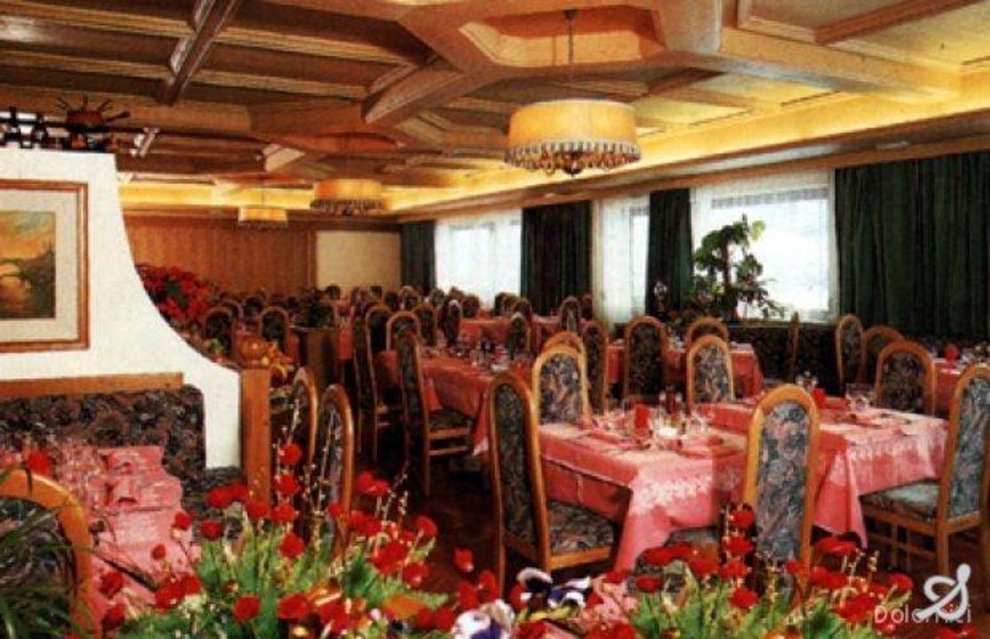 La sala da pranzo Monaco Sport Hotel