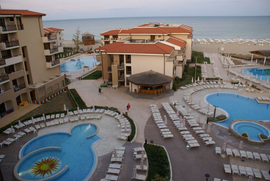 Zdjęcie z dachu hotelu HVD Clubhotel Miramar