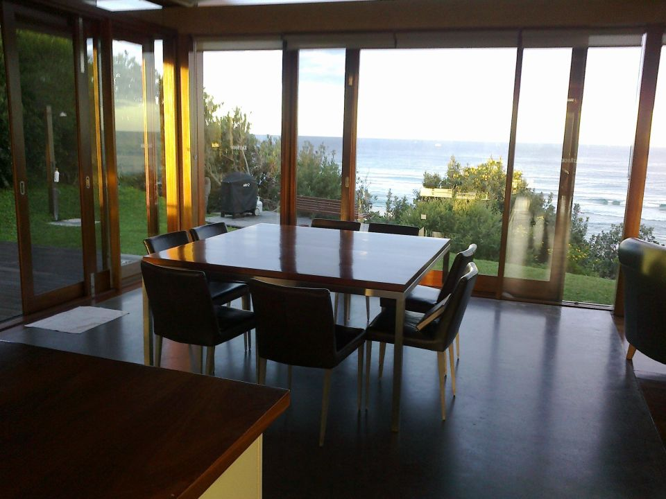 Diningroom With A View Beach Front House Saltrock