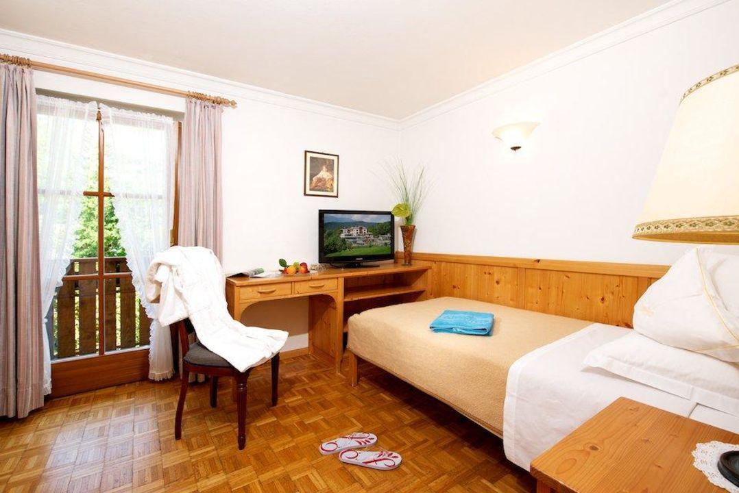 Einbettzimmer Hotel Alpenflora