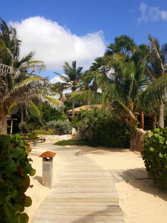 Gartenanlage Baoase Luxury Resort