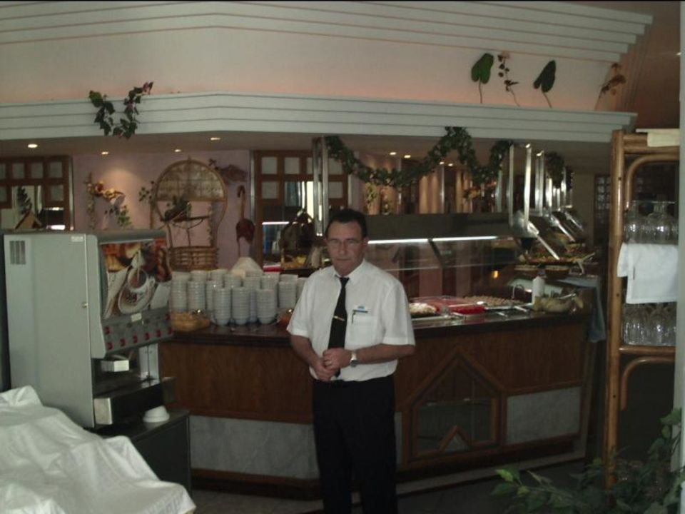 Der Chef.v.Speisesaal.von M.Kurowski allsun Hotel Mariant Park