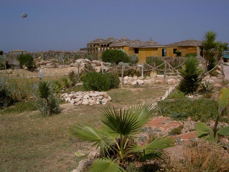 Traumhafte Gartenanlage Hotel Djerba Paradise Resort