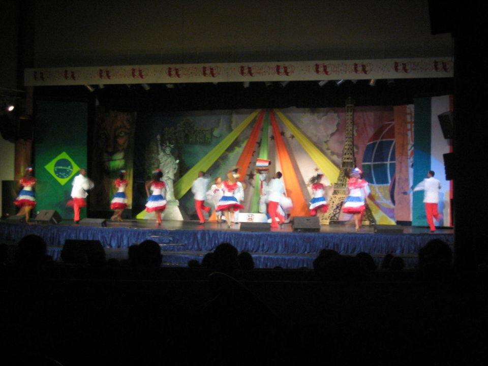 Show im Theater Grand Palladium Bávaro Suites Resort & Spa