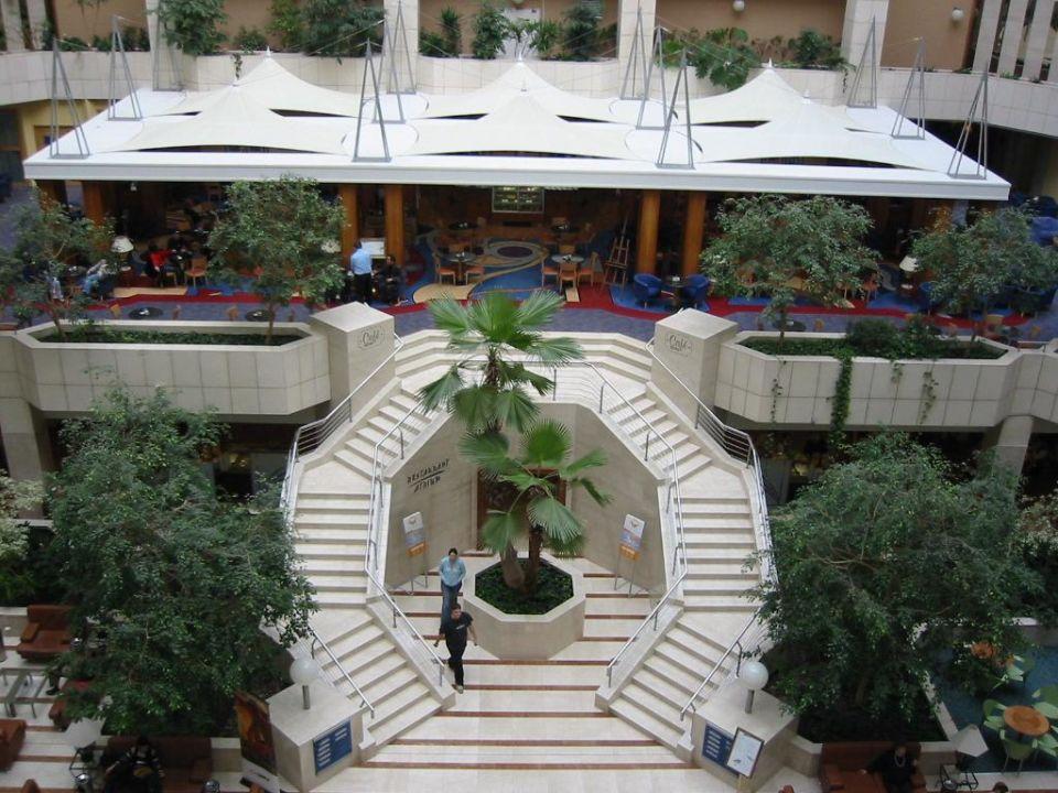 Innenansicht Hilton Prague