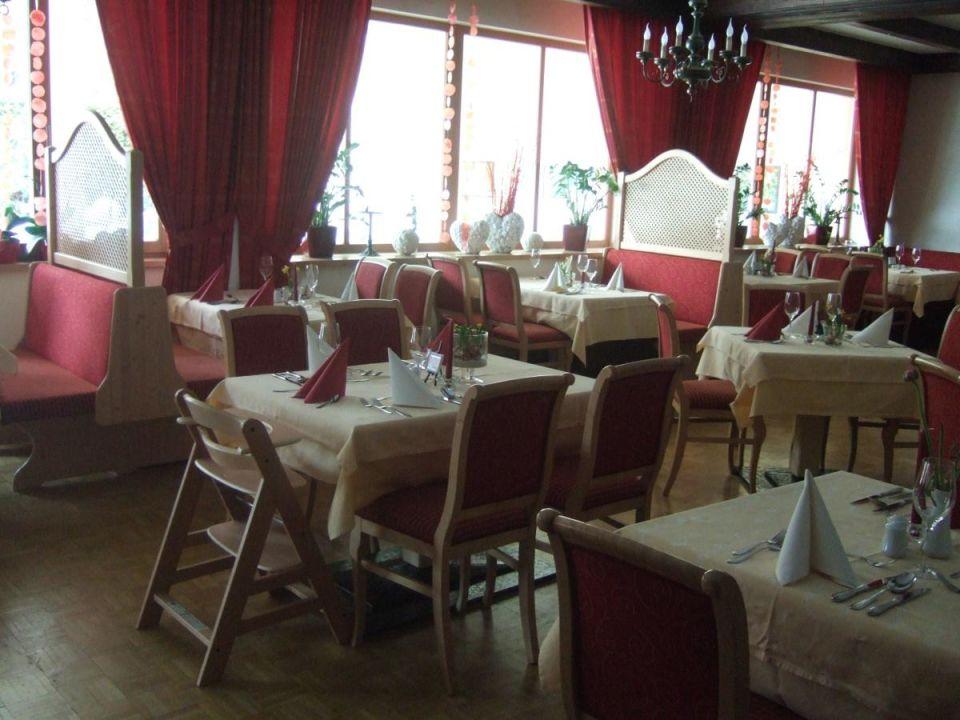 Speisesaal Familiengut Hotel Burgstaller