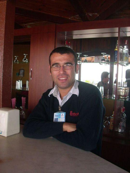 Murat von der Strandbar Hane Hotel