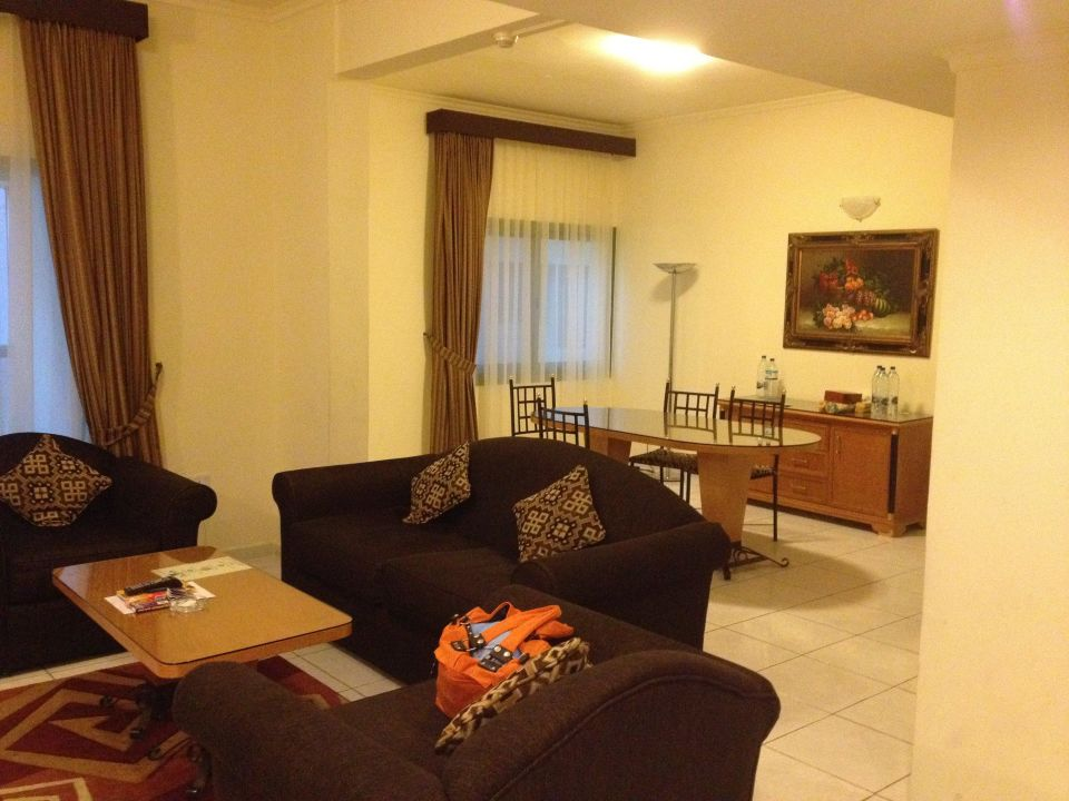 Wohnbereich Khalidia Apartments