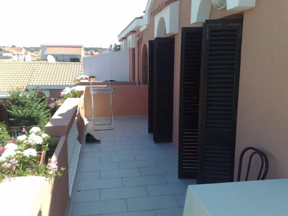 3 Bett Zimmer Balkon Hotel Marinko