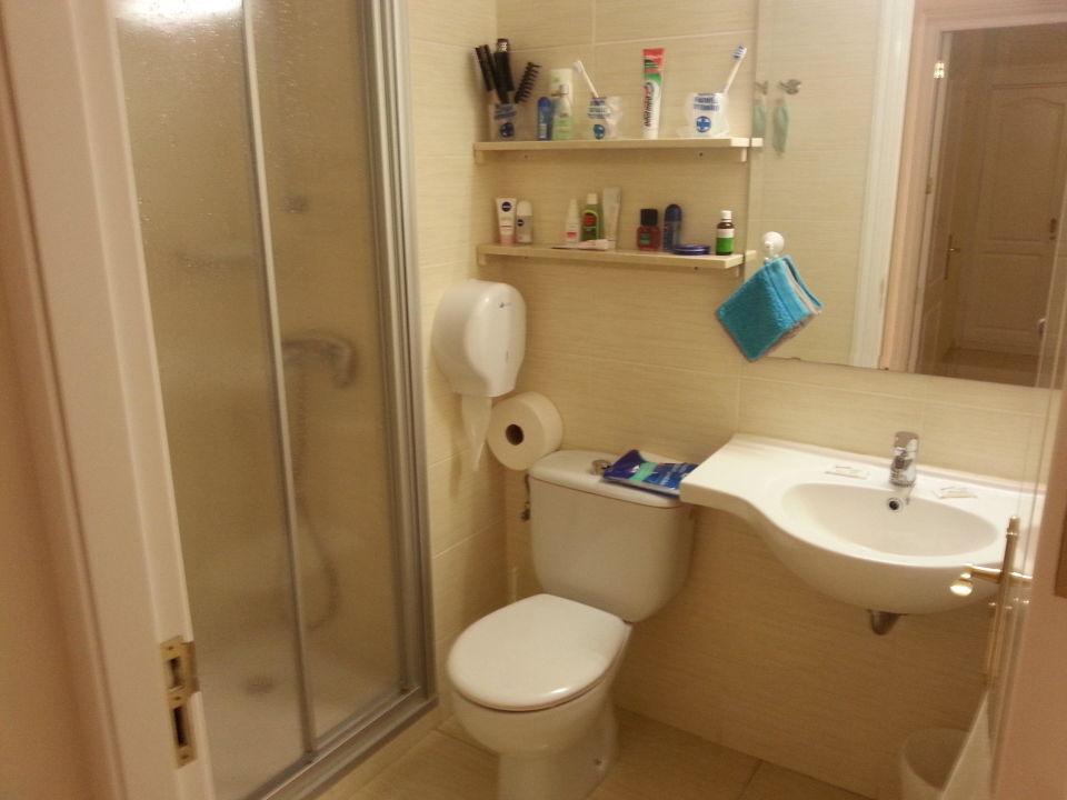 """badezimmer m.leicht begehbarer dusche"""" apartments dunasol in playa, Badezimmer"""