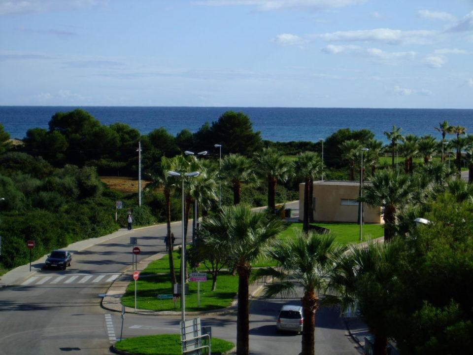 Blick vom Zimmer! allsun Hotel Orient Beach