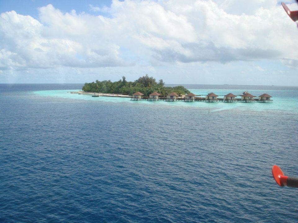 Insel im Anflug Maayafushi Resort