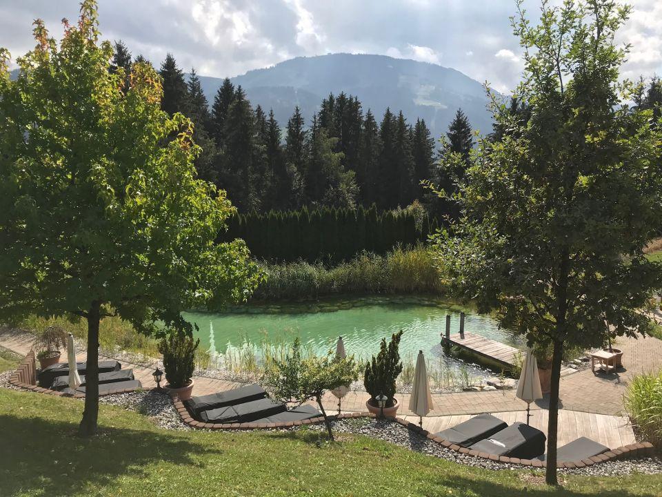 Gartenanlage Hotel Leitenhof