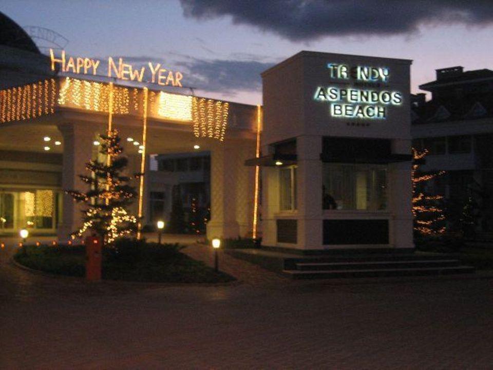 Eingang Trendy Aspendos Beach Hotel
