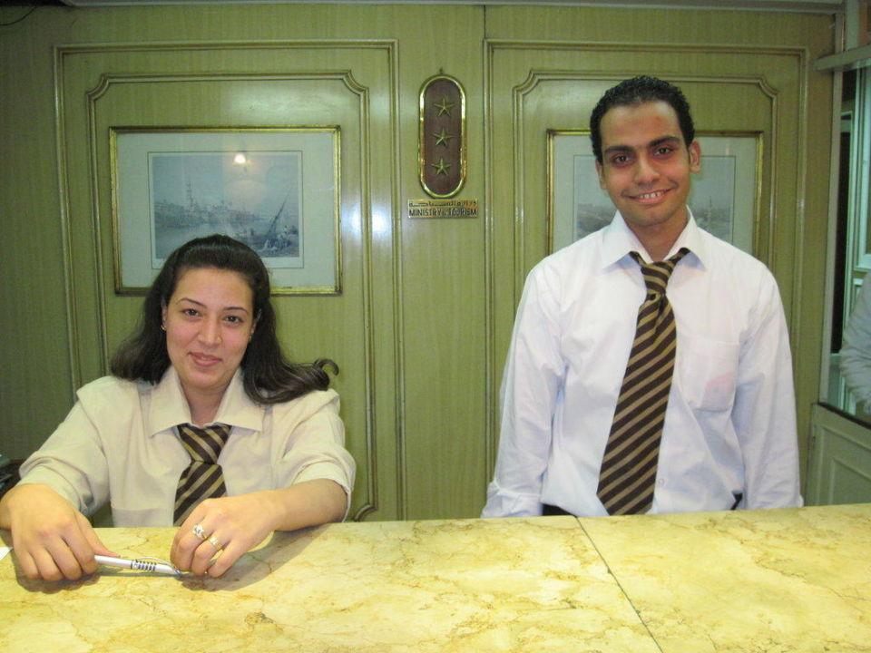 Rezeption: Semmi und Sallah Hotel Victoria