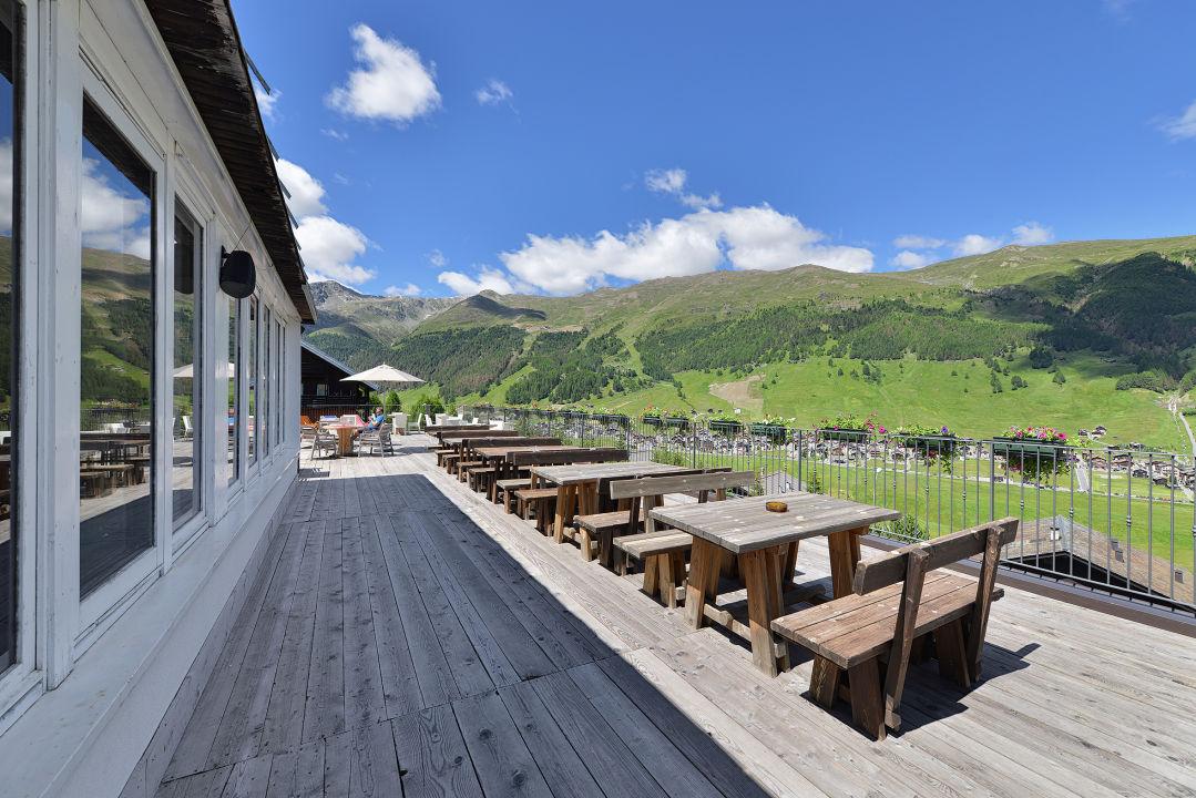 Ausblick Alpen Village Hotel