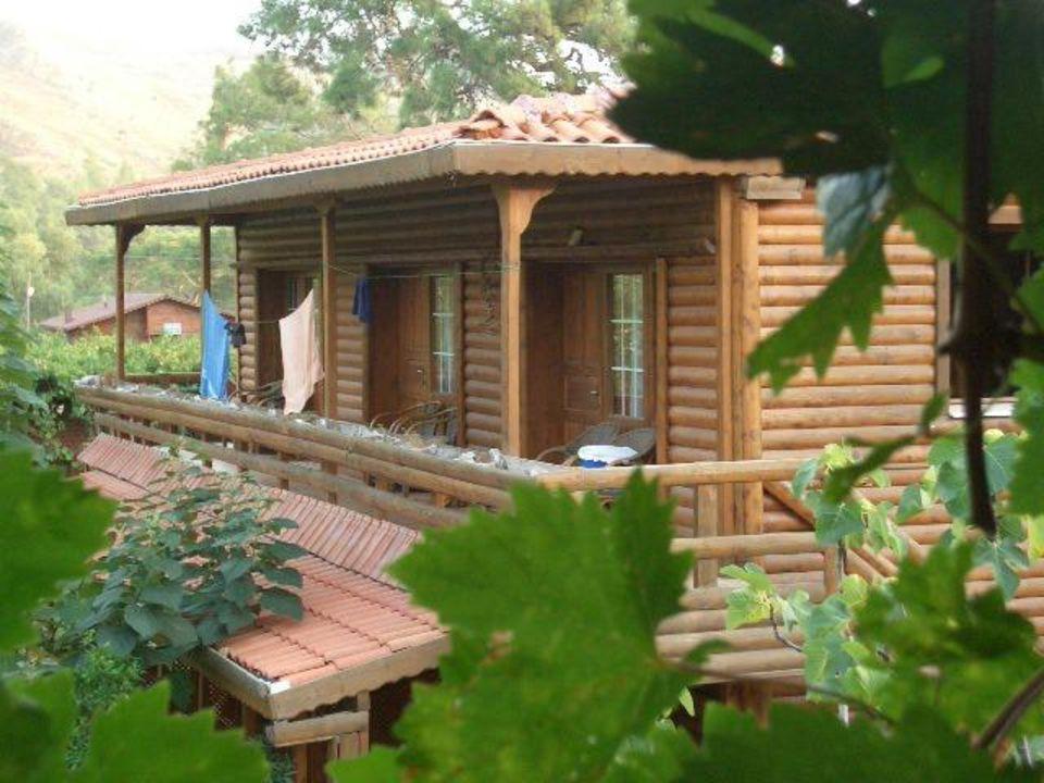 Holz Hauschen Unterkunft Hotel Olimpos Mitos Olympos