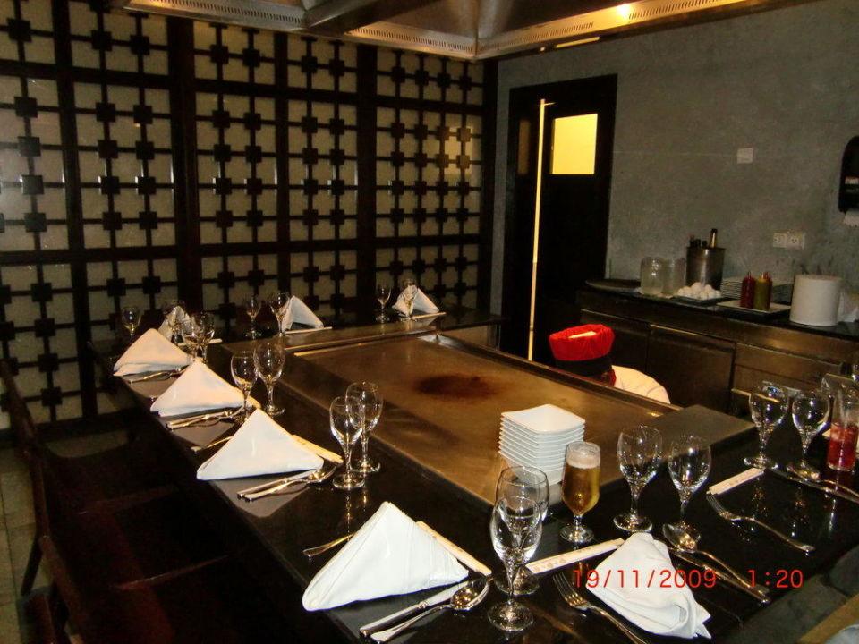 Kochstation beim Japaner Majestic Elegance Punta Cana Resort