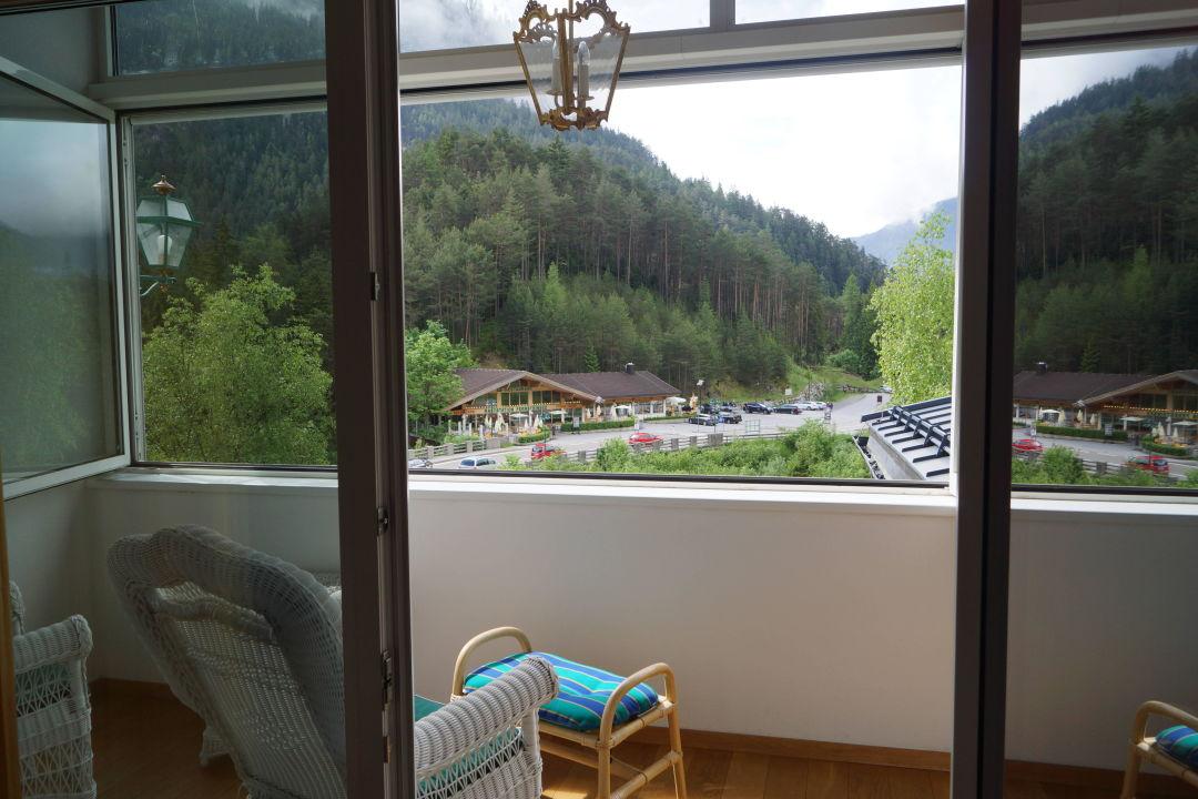 Verglaster Balkon Mit Ausblick Hotel Schloss Fernsteinsee