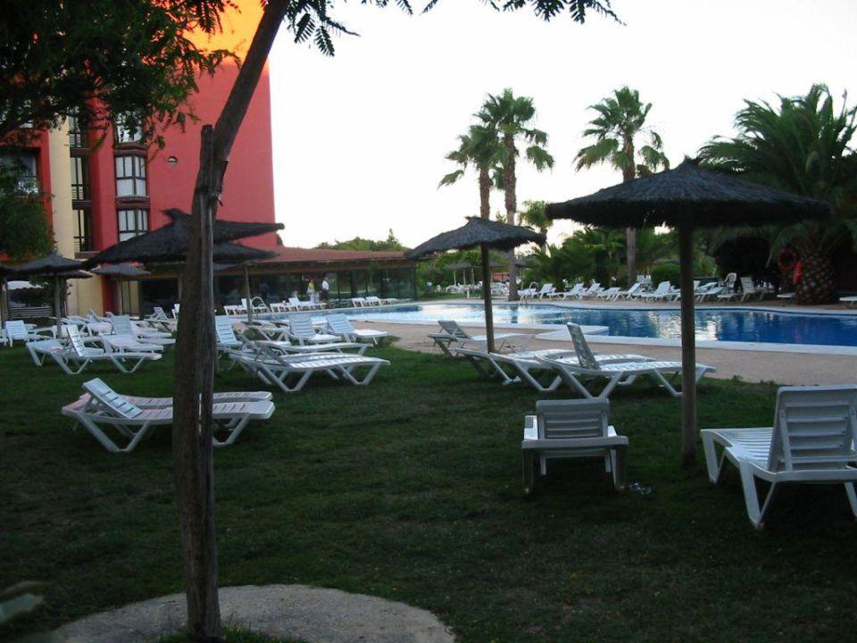 Der kleinere, vorne liegende Pool TUI FAMILY LIFE Islantilla