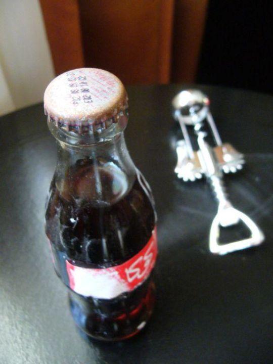 Die uralte Cola & der gefährliche Öffner Hotel Rabat