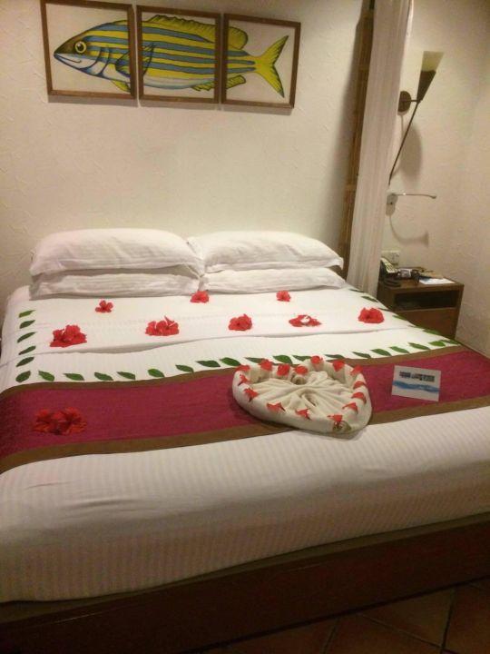 Bild nette dekor zum geburtstag zu hotel kuramathi for Dekor hotel