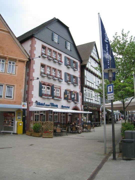 andere Ansicht Romantik Hotel Zum Stern