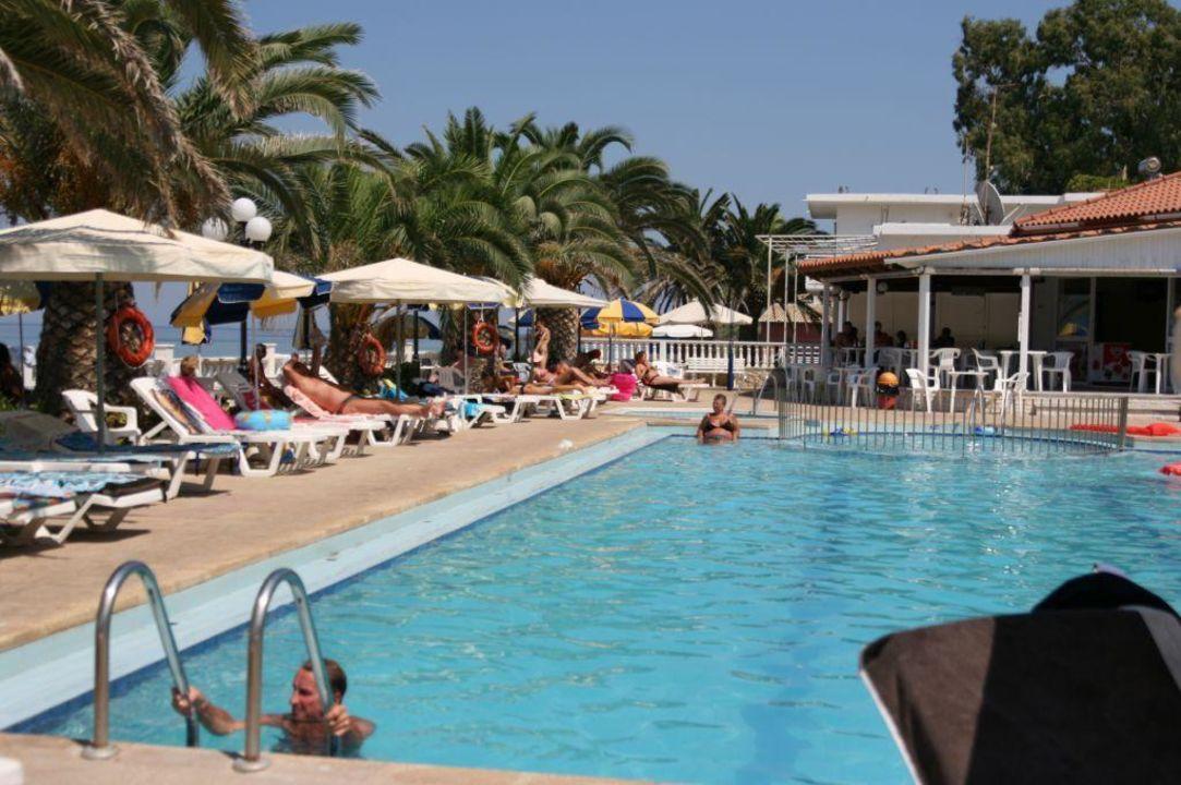 Basen i bar Hotel Chryssi Akti & Paradise Beach - Paradise Beach