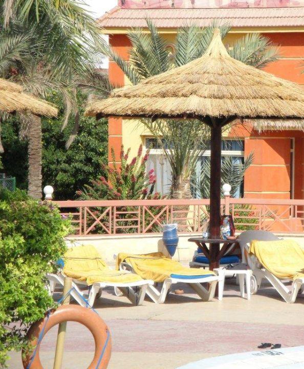 Parasole, leżaki Hotel Seagull Beach Resort