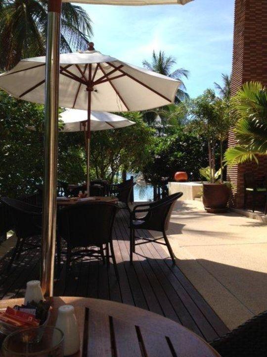 Frühstück Außenbereich Samui New Star Resort