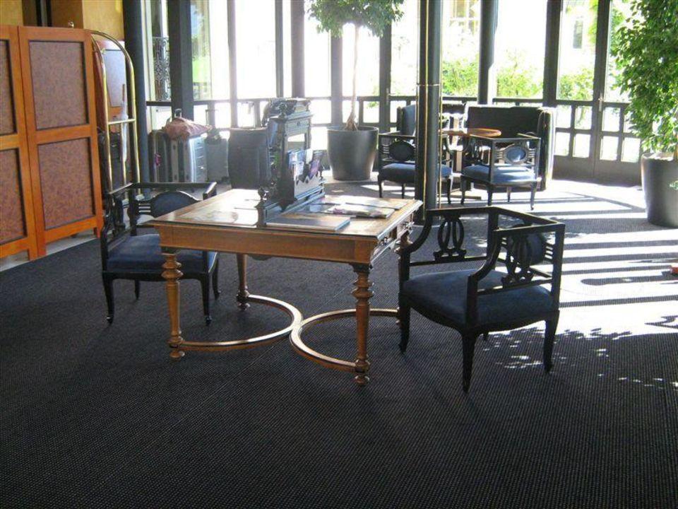 Eingangsbereich Lobby Victoria-Jungfrau Grand Hotel & Spa