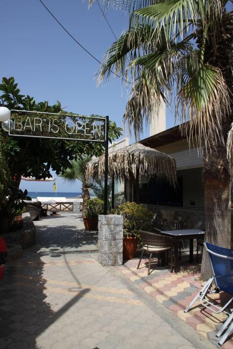 Zugang Richtung Rezeption Und Pool Strandbar Aeolos Beach Malia