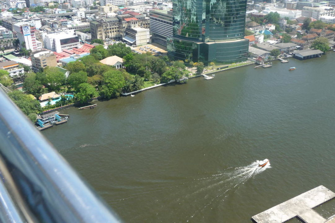 Dachterrasse 31. Stock Millennium Hilton Bangkok